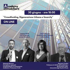 Crowdfunding, Rigenerazione Urbana e Smartcity